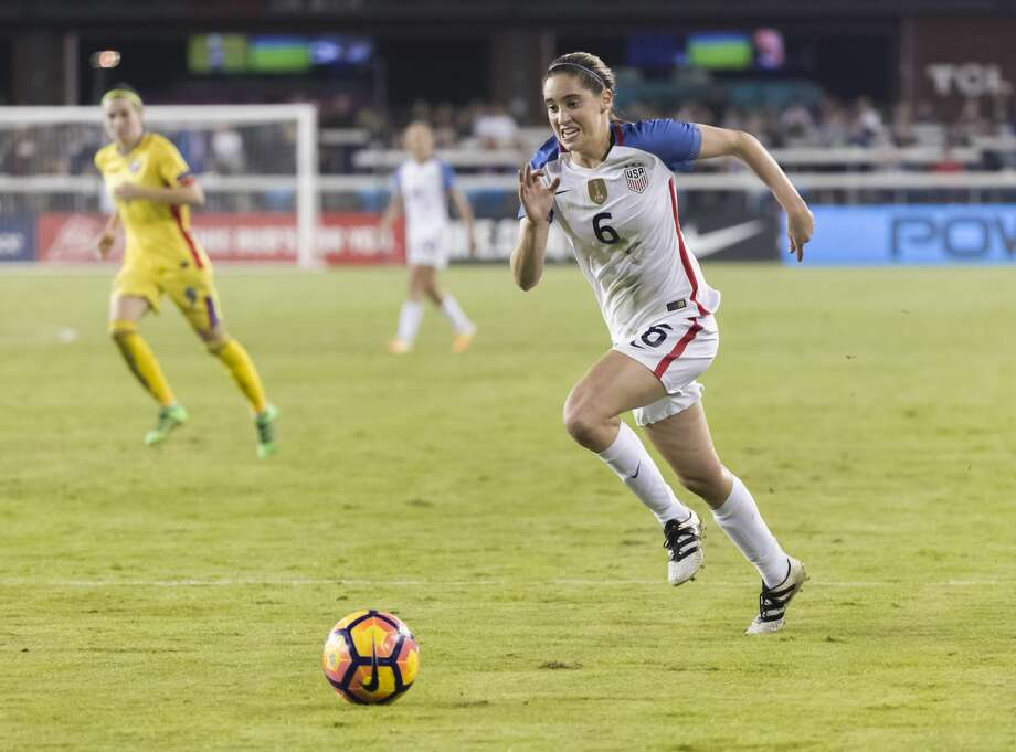 SAN JOSE, CA - NOVEMBER 20:  Morgan Brian #6 of the USA plays in a soccer game against Romania on November 10, 2016 at Avaya Stadium in San Jose, California.  (Photo by David Madison/Getty Images) Photo: David Madison/Getty Images