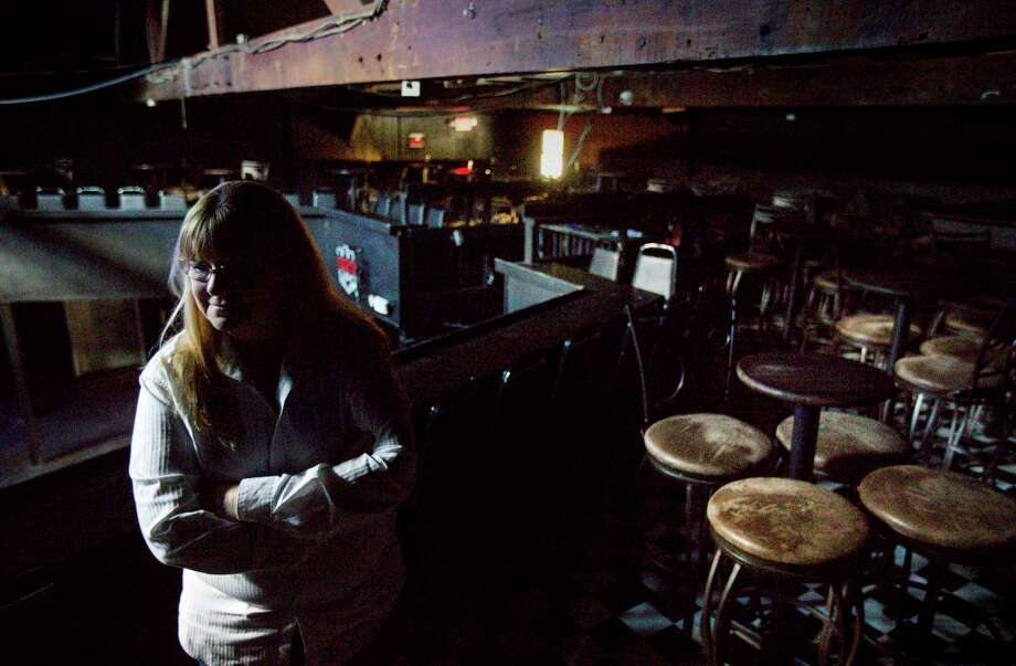 Sara Fitzgerald, who has owned the music venue Fitzgerald's for 40 years, says she now fears for its future after controversy erupted over what critics have called racist comments.  Photo: Jon Shapley, Houston Chronicle / © 2017  Houston Chronicle