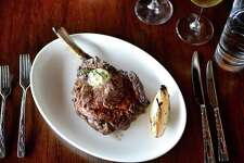 18-ounce bone-in rib-eye at 18 Oaks at the JW Marriott San Antonio Hill Country Resort & Spa