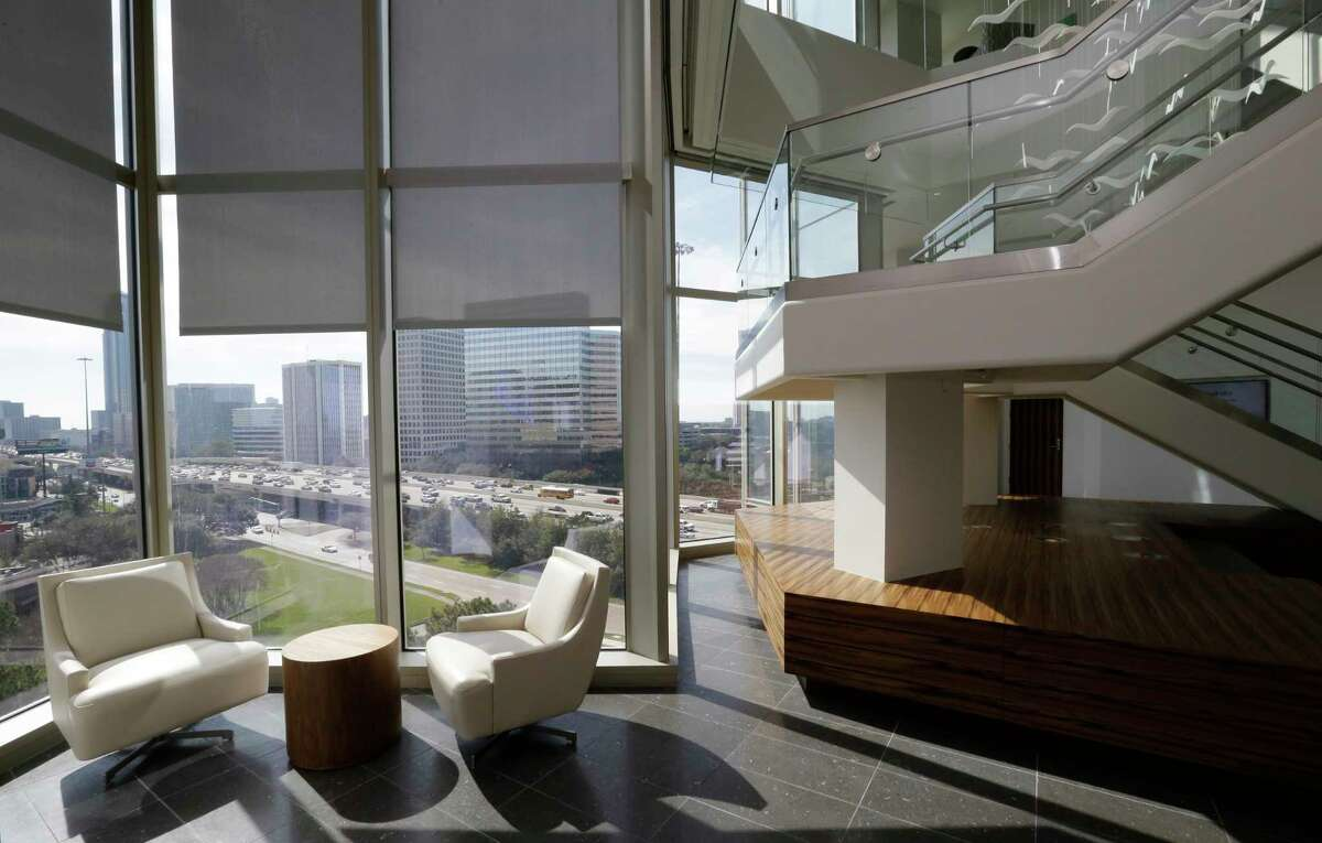 Amegy Bank, at 1717 West Loop South, has many of the perks office tenants are seeking.