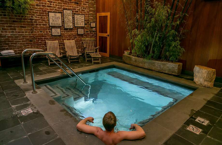 The soaking tub at Onsen in S.F. Photo: John Storey, Special To The Chronicle
