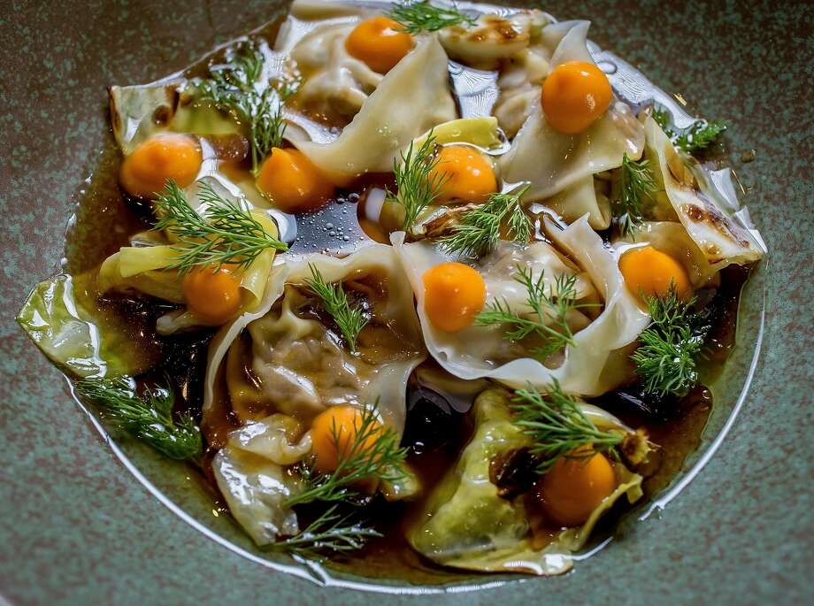 Mushroom dumplings at Onsen in S.F. Photo: John Storey, Special To The Chronicle