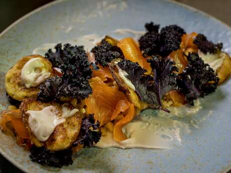 Onsen's smoked trout. Photo: John Storey, Special To The Chronicle