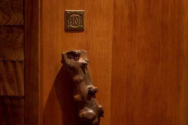 The front door to Onsen in San Francisco, Calif. is seen on February 16th, 2017.