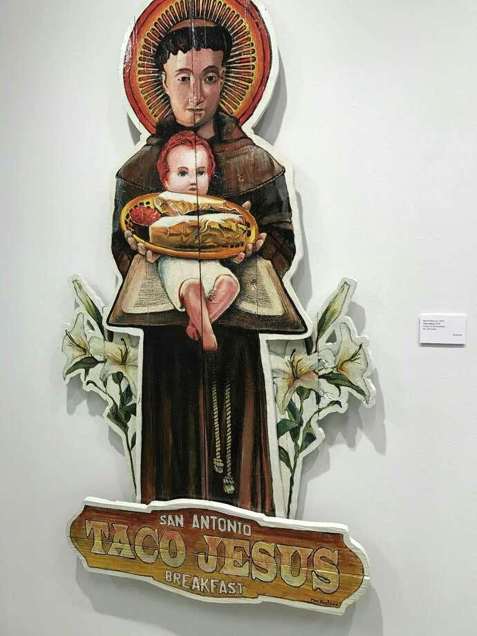 "Another look at ""Taco Jesus"" by Michael Breidenbach. Photo: René A. Guzman / San Antonio Express-News"