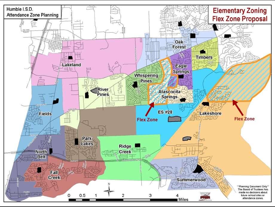 Humble Isd Approved Flex Zone Plan San Antonio Express News