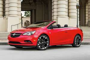 """Customers were clamoring for a Cascada in red so Buick came up with its """"dark effects package"""" for 2017. There's no added cost for the new option, which is only available on the top-of-the-line Sport Touring."""