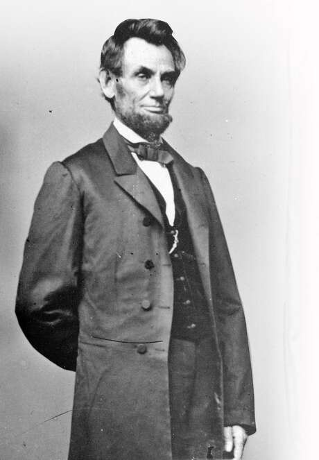 President Abraham Lincoln poses for a portrait in this undated file photo. Photo: MATHEW BRADY, ST