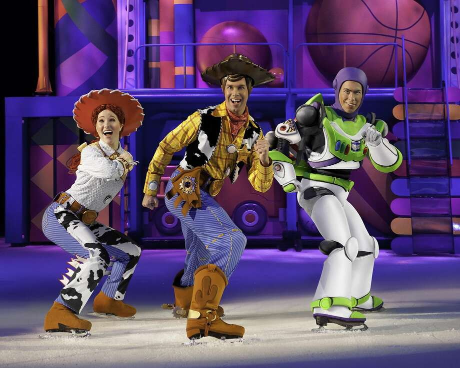 "The show is like a highlights reel of scenes from films like ""Toy Story."" Photo: Feld Entertainment"