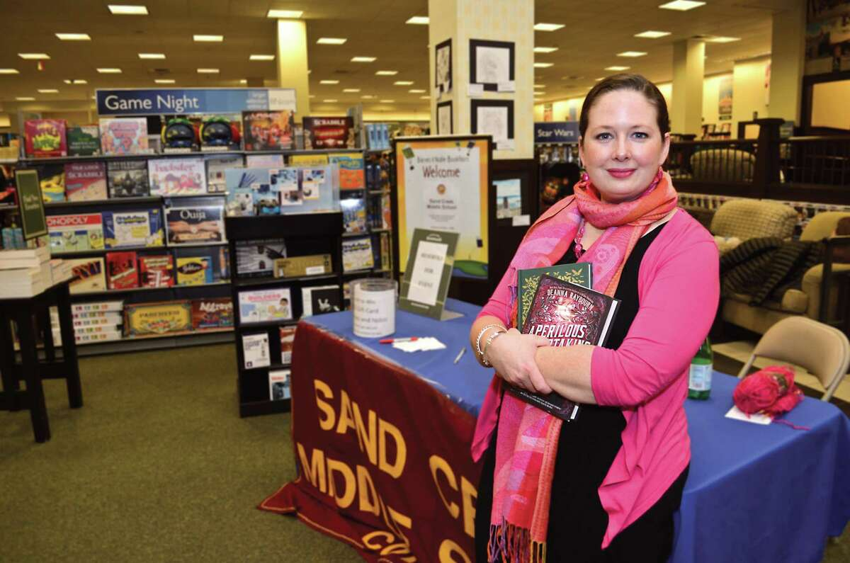 Kelly Brown Mateja, at Barnes & Noble in Colonie Center, in Albany, N.Y. on Friday, January 27, 2017. Mateja is the director of aging projects and community collaborations, New York State Office for Aging, and also the organizer of Morning of Kindness. (Colleen Ingerto / Times Union)