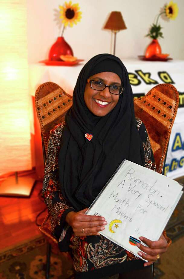 Fazana Saleem-Ismail in her home in Schenectady, N.Y., on Friday, January 27, 2017. Saleem-Ismail is Chair of the community outreach committee for Capital Region Coalition Against Islamophobia. Photo: Colleen Ingerto / Times Union