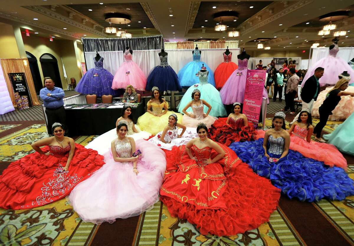 Quinceañera dresses can cost thousands of dollars, just one of the big-ticket expenses for the coming-of-age parties for 15-year-olds.