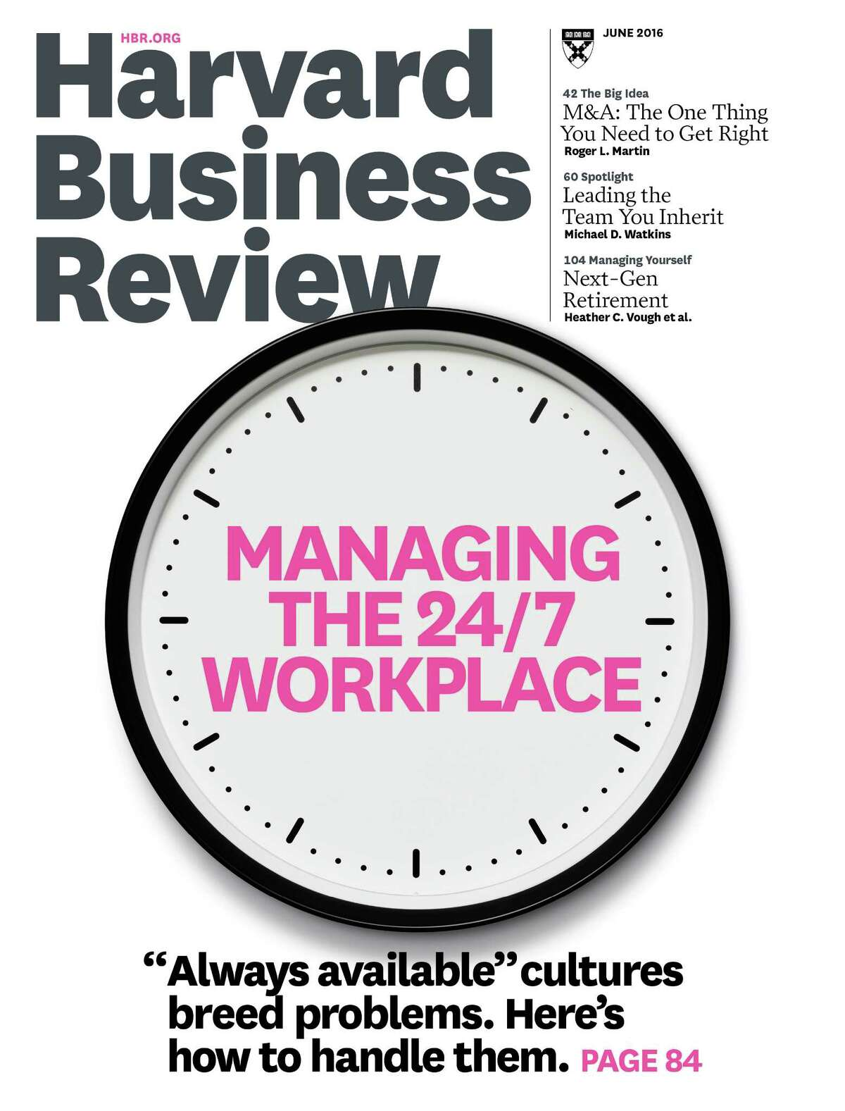 Blogs and articles at Harvard Business Review