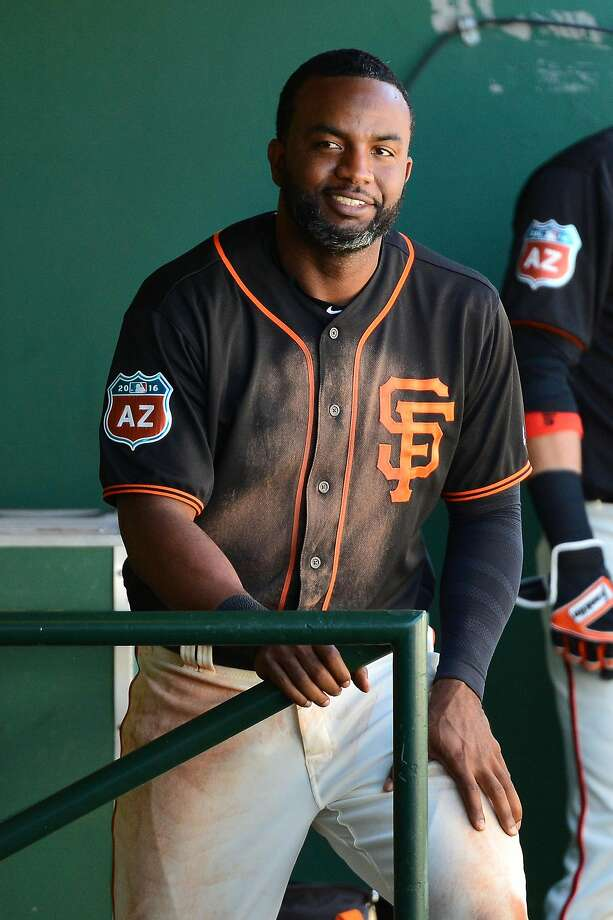 Denard Span is starting his second year with the Giants. Photo: Jennifer Stewart, Getty Images