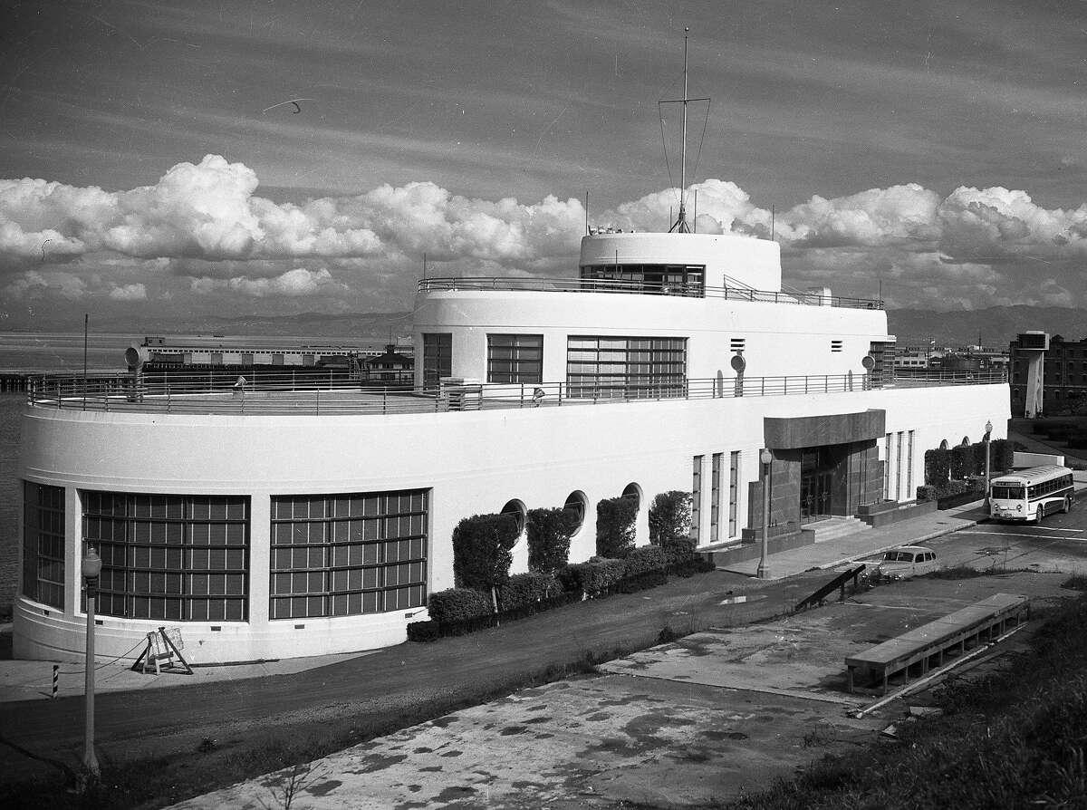 The Aquatic Park building exterior November 29, 1949