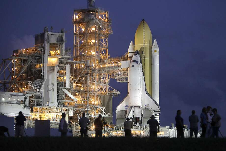 SpaceX will use launch pad 39A at Cape Canaveral, the same used by shuttle Discovery in 2010. Photo: John Raoux, Associated Press
