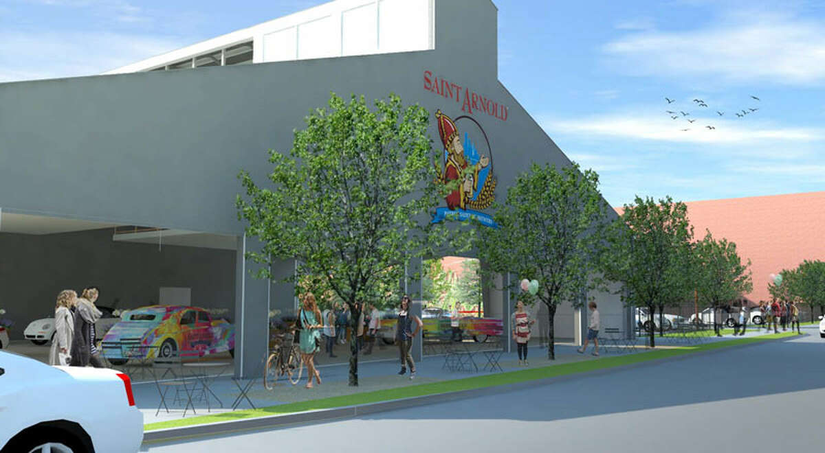 PHOTOS: See what the area around Saint Arnold could look like in the near future In renderings that leaked earlier this week the Saint Arnold Brewing Company's possible plan for evolving the space it currently occupies off Lyons Avenue where laid out. Click through to see what the brewery has in mind...