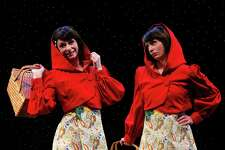 """On weekends from Feb. 25 through April 2, the Downtown Cabaret Theatre will present its updated version of an old classic by doubling down. On stage will be """"Little Red Riding Hoods,"""" by Phil Hill."""
