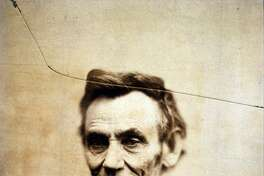 A portrait of President Abraham Lincoln dated Feb. 5, 1865.