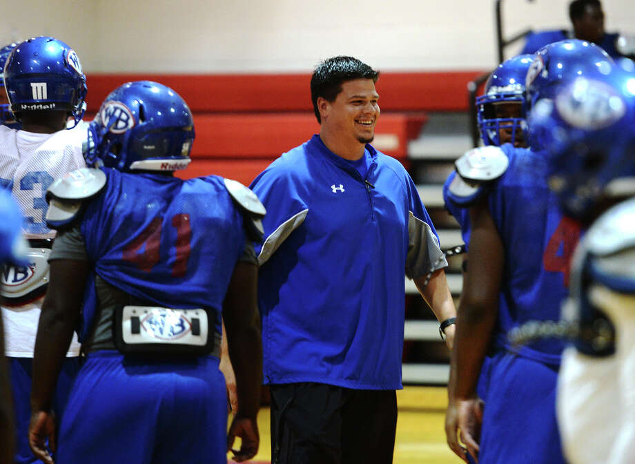Defensive coordinator Eric Peevey was hired as the new head coach at West Brook High School, Beaumont ISD said Friday. Photo: Jake Daniels / ©2014 The Beaumont Enterprise/Jake Daniels
