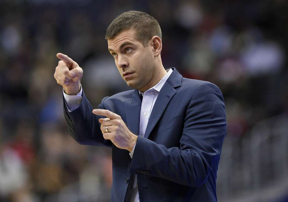 Boston Celtics coach Brad Stevens will lead the East against Steve Kerr's West at the All-Star Game in New Orleans. Photo: Nick Wass, Associated Press