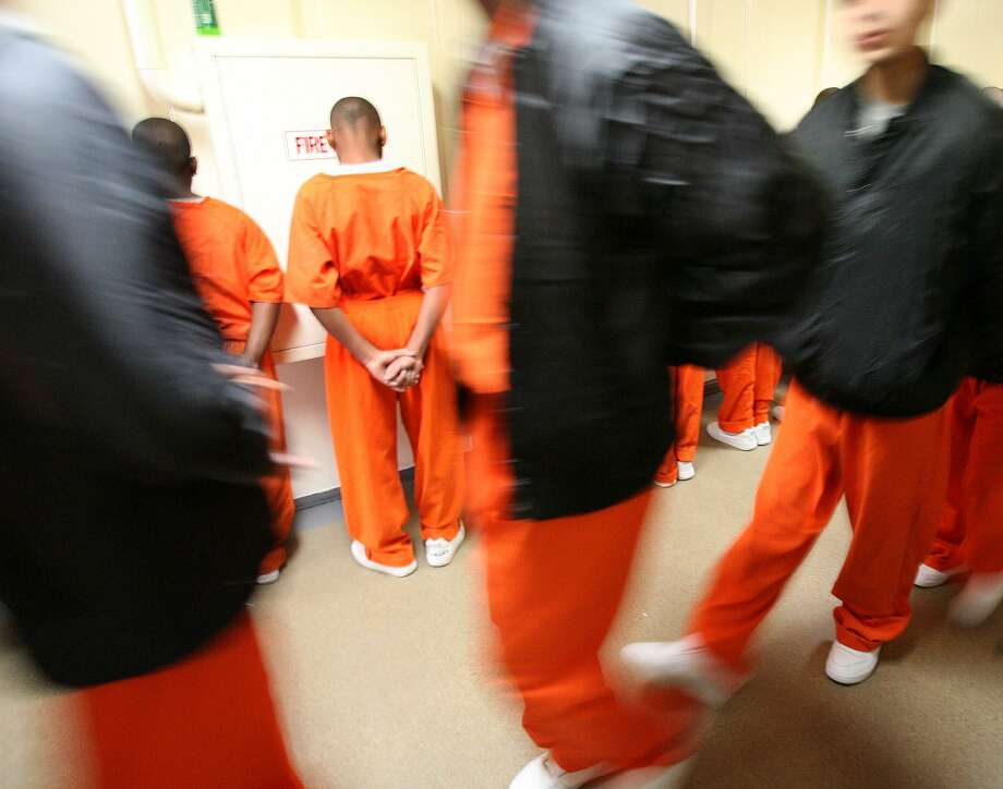 In Texas, 17-year-olds are charged as adults and sent to adult prison. The data, however, show recidivism is far less if offending youth are sent to such facilities as this Texas Youth Commission facility in Marlin. Photo: Associated Press File Photo / THE WACO TRIBUNE-HERALD