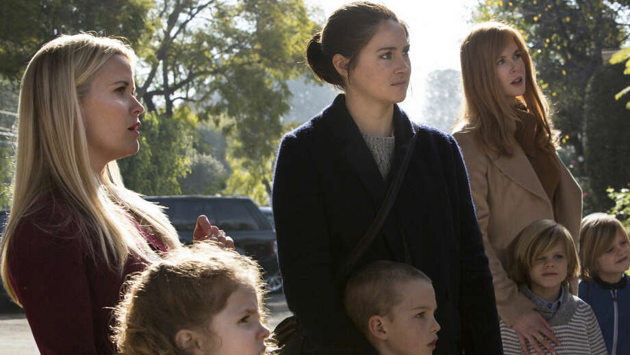 "From left, Reese Witherspoon,  Shailene Woodley and Nicole Kidman in HBO's ""Big Little Lies."" Photo: HBO"