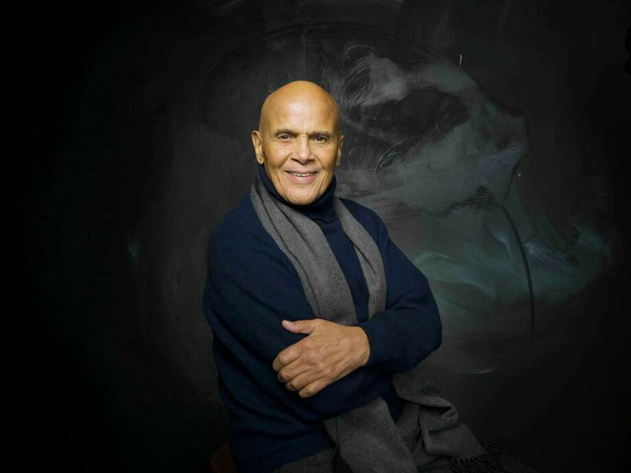 "Entertainer Harry Belafonte, who turns 90 on March 1, is releasing a new album, ""When Colors Come Together,"" celebrating his life's work of nurturing racial harmony and fighting injustice through art. Photo: Victoria Will, FRE / ONLINE_CHECK"