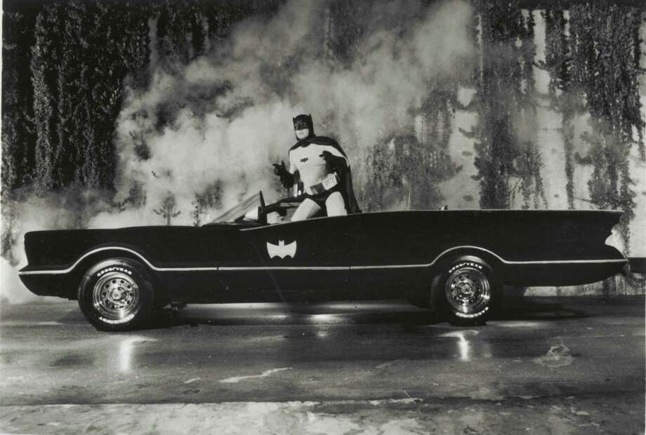 The National Museum of Funeral History in Houston features a Batmobile, a replica of the Caped Crusader's car from the TV show. Photo: Courtesy / HANDOUT