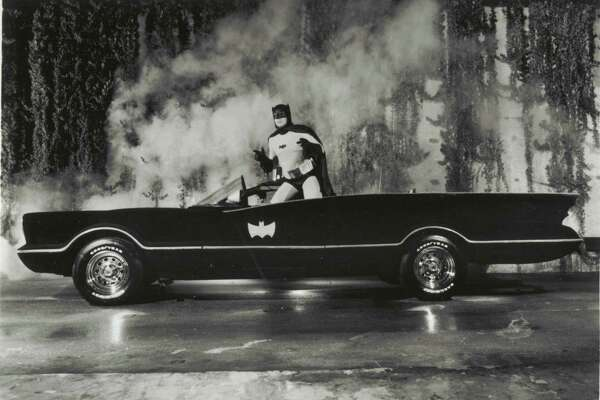 The National Museum of Funeral History in Houston features a Batmobile, a replica of the Caped Crusader's car from the TV show.