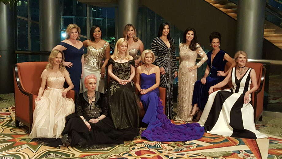 The 2017 Winter Ball honorees are, from left: Susan Sarofim, Kelli Weinzierl, Vivian Wise, Shawntell McWilliams, Judi McGee, Cyndy Garza Roberts, Jo Furr, Dr. Sippi Khurana, Alissa Maples, Jessica Rossman and Kim Tutcher. Photo: Courtesy Of Crohn's & Colitis Foundation