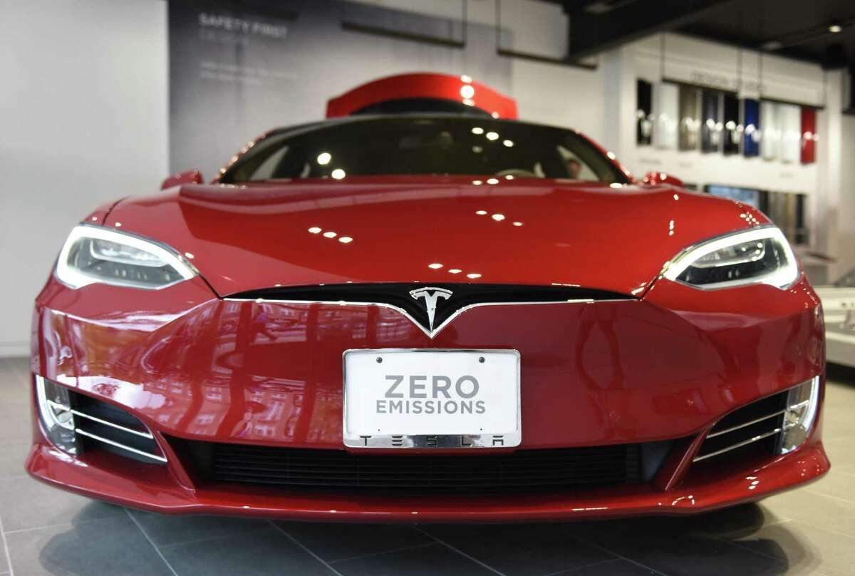 Tesla would be allowed to sell its electric vehicles direct to consumers in Connecticut under a bill just introduced this week in the Legislature. Tesla has a showroom in Greenwich, where would-be customers can learned about how to place orders for the vehicles.