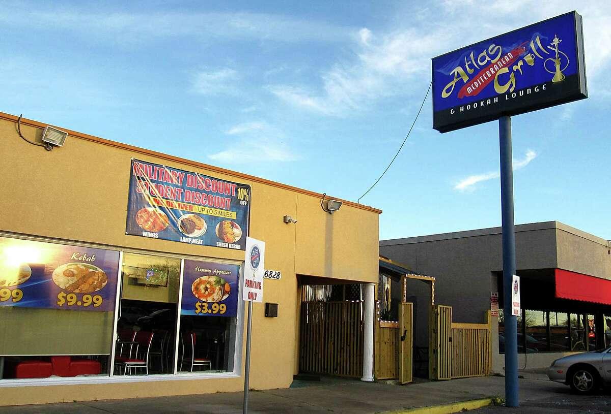 Atlas Mediterranean Grill, a new restaurant on San Pedro Avenue.