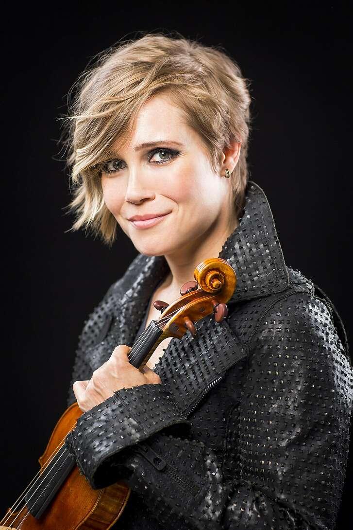 Violinist Leila Josefowicz