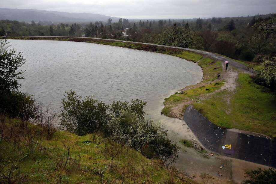 High-hazard Suttenfield Dam in Sonoma County went uninspected for over two years, but a check in 2016 showed it to be safe. Photo: Michael Macor, The Chronicle