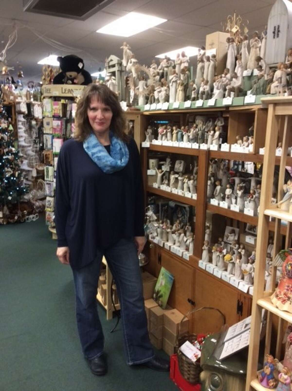 Patricia Varga, owner of the Cross Eyed Owl Gift Shop was recently awarded the 2016