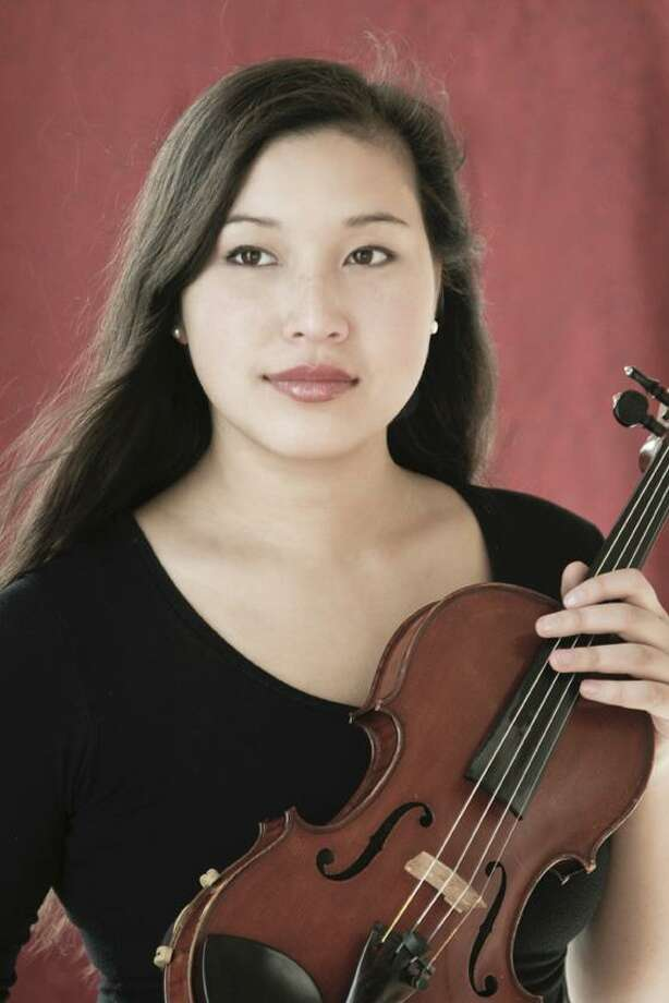 Christina Bouey will be featured soloist for the Greenwich Symphony at its Feb. 25 and 26 performances. Photo: Contributed