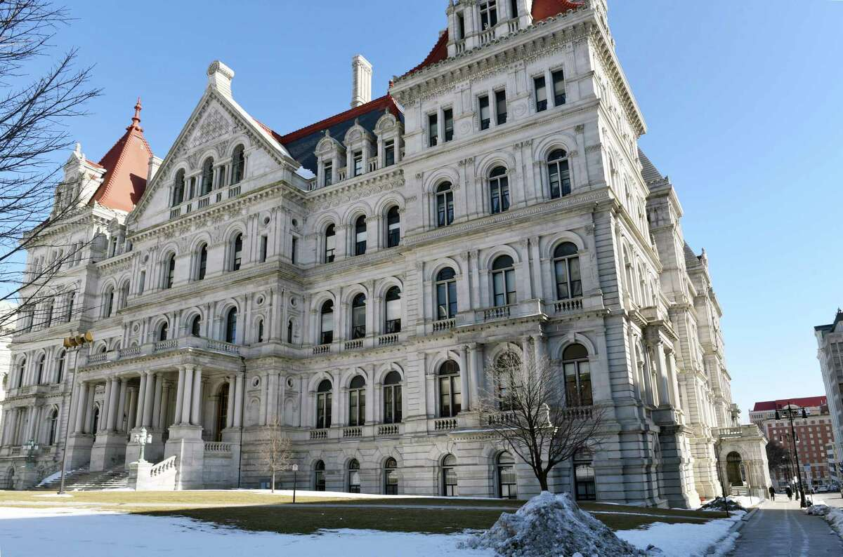 The Capitol Building Friday Feb. 17, 2017 in Albany, NY. (John Carl D'Annibale / Times Union)