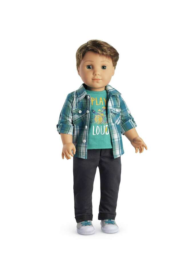 "The ""Logan Everett"" doll went on sale last week to become American Girl's first boy doll. Photo: Uncredited, HONS / American Girl"