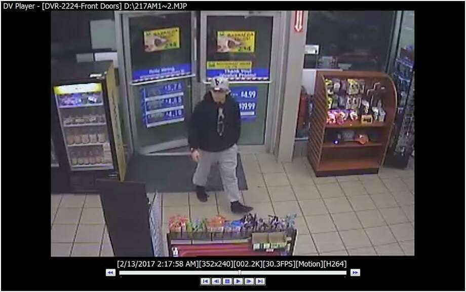 Laredo police said the man in this picture is responsible for a couple of thefts at local convenience stores. Photo: Courtesy Photo /Laredo Police Department
