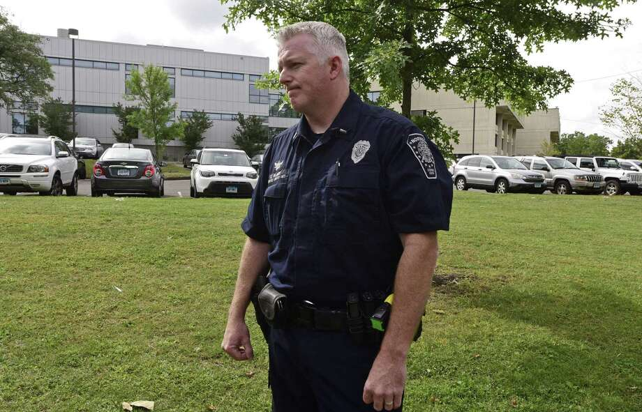 Lt. Terrence Blake, a Norwalk police spokesman, says a suspect's immigration status generally has no bearing on how police conduct their investigation, Photo: Erik Trautmann / Hearst Connecticut Media / Norwalk Hour