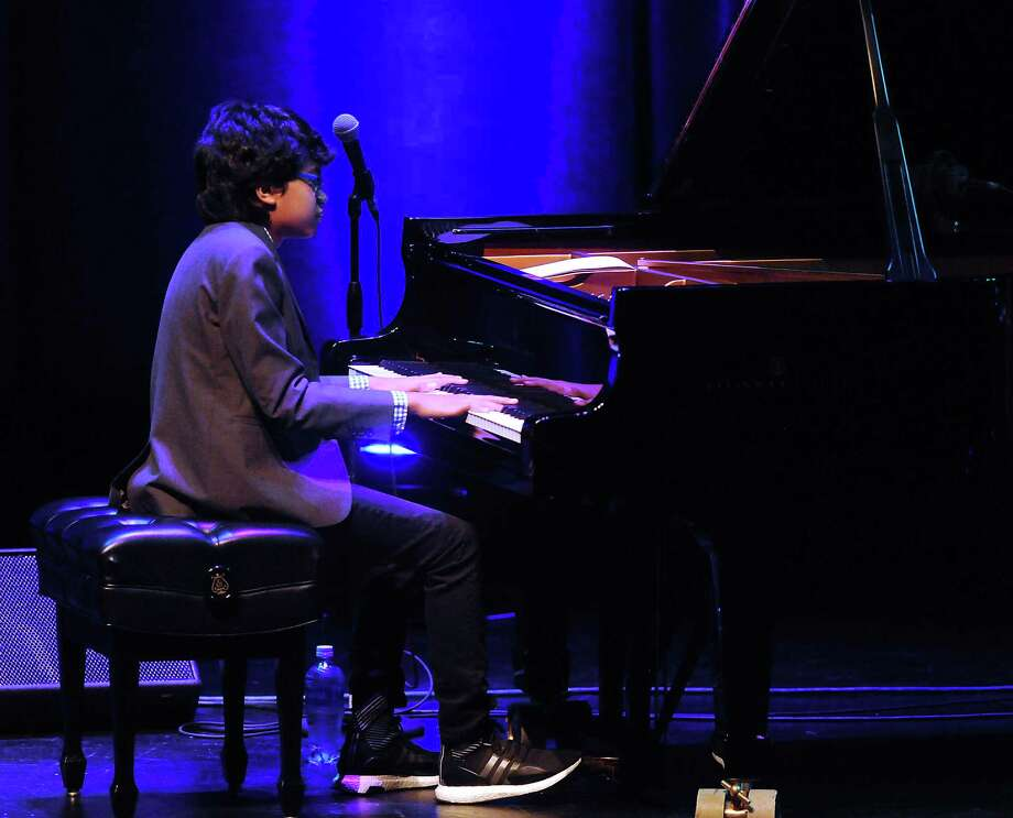 Jazz prodigy Joey Alexander,13, performs at the Wortham Theater Friday Feb. 17, 2017.(Dave Rossman photo) Photo: Dave Rossman, For The Chronicle / Dave Rossman