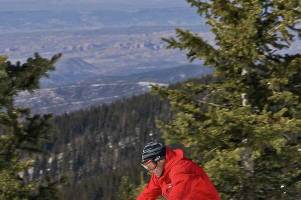 Ski Santa Fe is a family friendly ski mountain in the Sangre de Cristo range, just 16 miles from downtown Santa Fe.