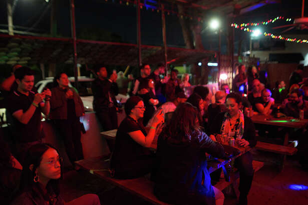 Visitors to La Botanica Friday night, Feb. 18, 2017, were treated to an evening of live music, fashion, dance and other visual performances for Holtz Fest.