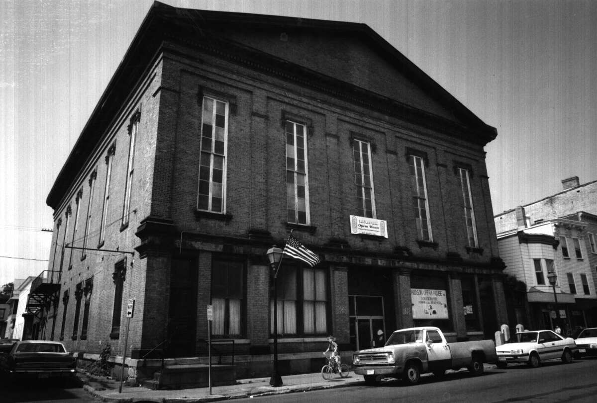 HUDSON --Exterior of this 19th., Century Opera House located on Warren Street Hudson N.Y. 7/29/1992. -3- McBride.