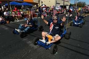 The WBCA Anheuser-Busch Washington Birthday Parade was held on Saturday, February 18, 2017 on San Bernardo Avenue.