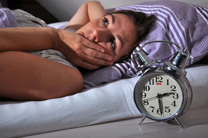 One third of all Americans having trouble falling asleep.
