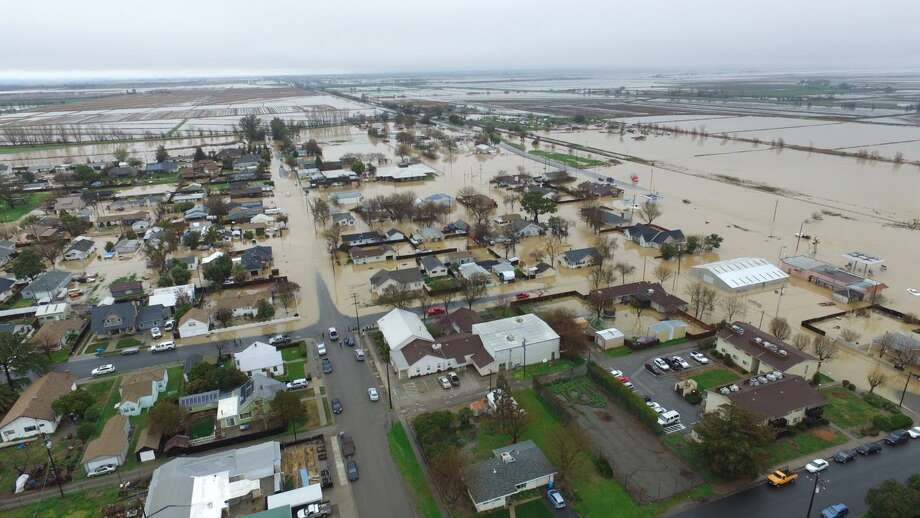 Maxwell in Colusa County near I-5 was among the towns hardest hit in the latest storm. Photo: Hector Iniguez / Hector Iniguez / Hector Iniguez provided this as handout to the chronicle via twitter. Demian Bulwa made the permissions request.