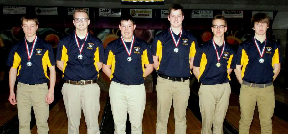 Team Conference Bowling Photo: Paul P. Adams/Huron Daily Tribune