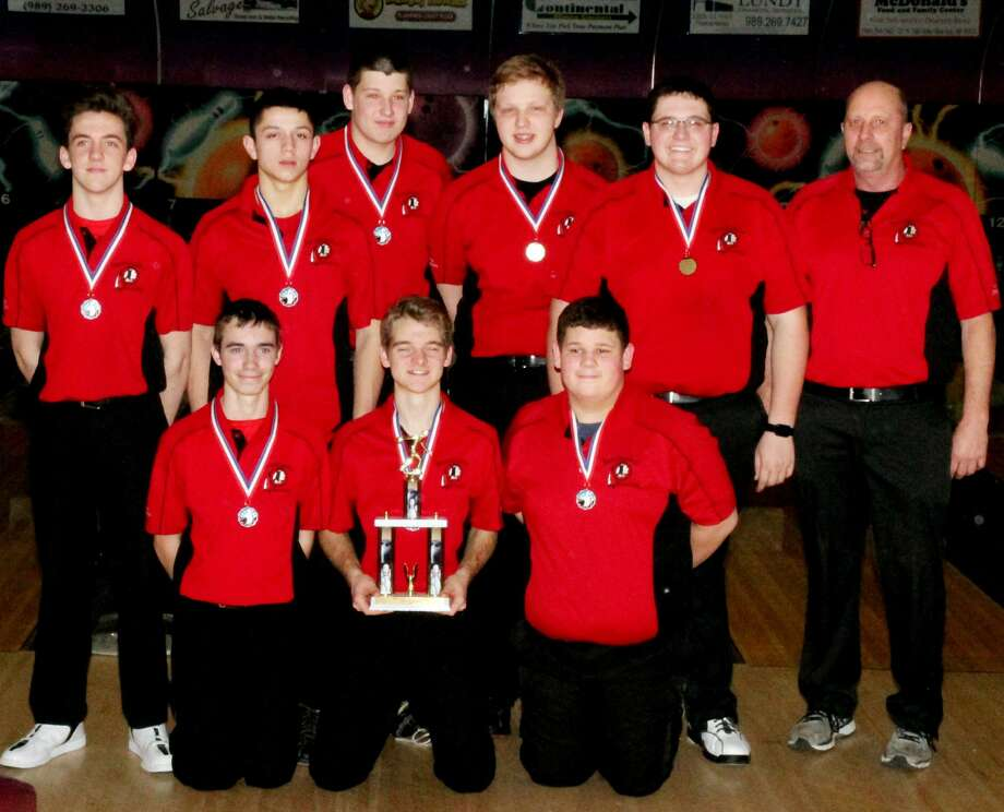 Team Conference Bowling Photo: Paul P. Adams/Huron Daily Tribune